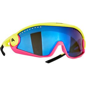 Alpina 5W1NG CM+ Glasses, amarillo/rosa